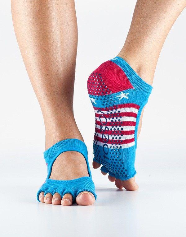 Half Toe Bella Grip Socks - GRIP SOCKS - Socks