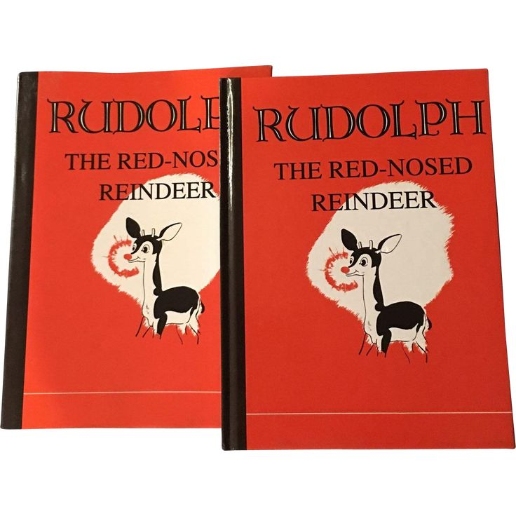 1939 Montgomery Ward Robert May's Rudolph The Red Nosed Reindeer Applewood Books
