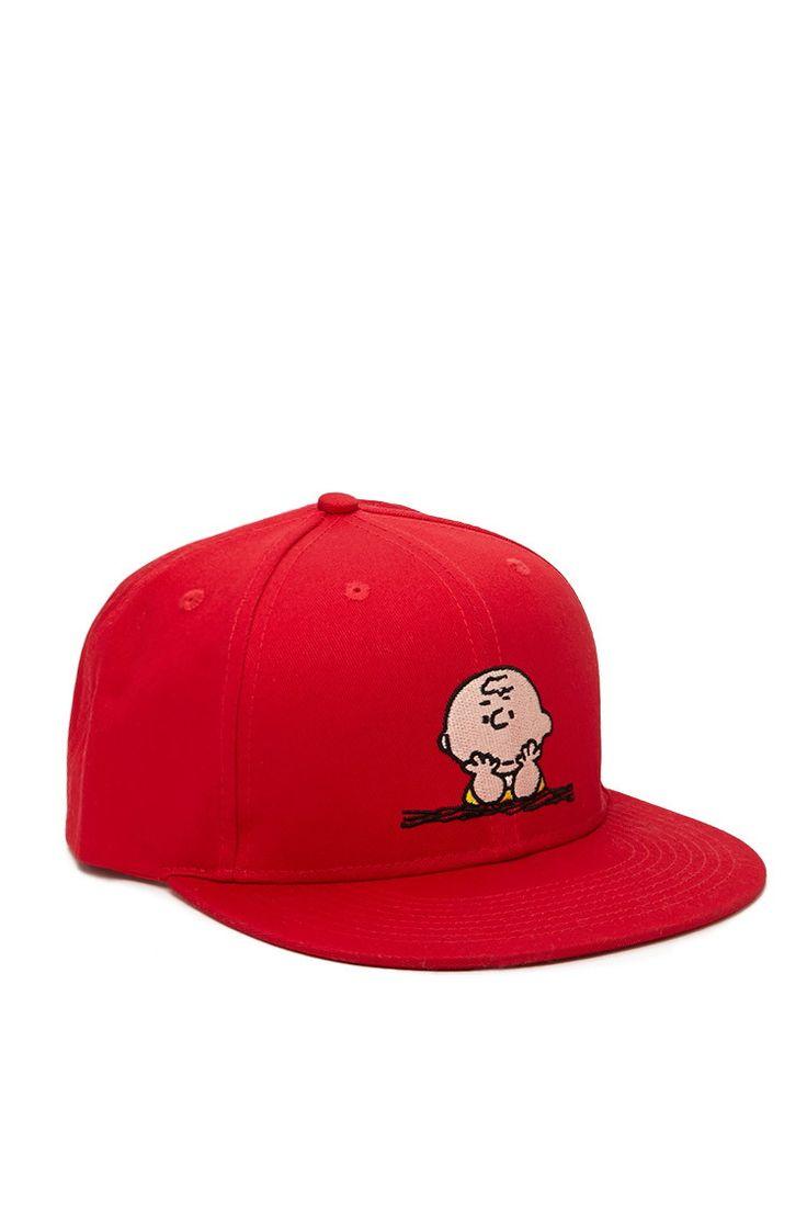 Men Charlie Brown Snapback Hat - New Arrivals - 2000171656 - Forever 21 UK