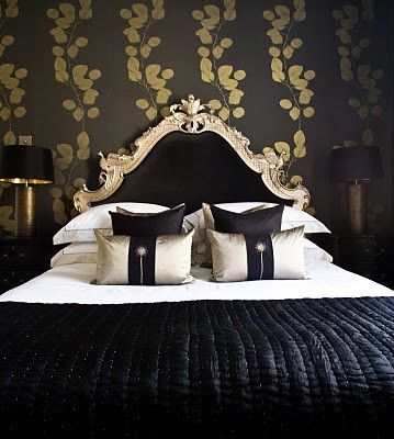 Best 25 Black Gold Bedroom Ideas On Pinterest  Black Gold Decor Glamorous Black And Gold Bedroom Ideas Review