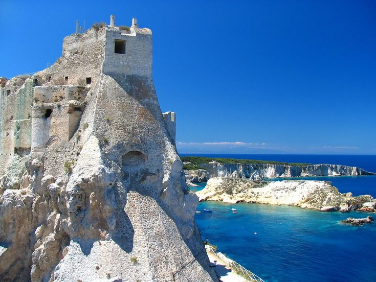 Fortress of San Nicola, Tremiti IslandsIsolated Tremiti, Spectacular Castles, Favorite Places, Beautiful Castles, Tremiti Islands, Southern Italy, Adriatic Sea, Puglia Italy, Italian Castles