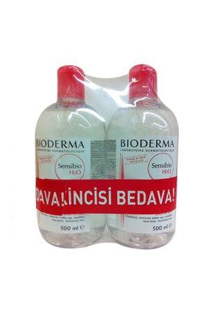 BIODERMA Sensibio H2O Misel Solüsyon 500 mL (1 Alana 1 Bedava) http://www.kozmopoli.com/urun/bioderma-sensibio-h2o-500-ml-alana-2-incisi-hediye-hassas-ciltler-icin-temizleyici-solusyon/