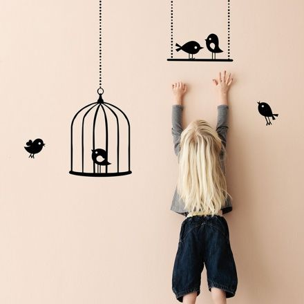 Ferm Living / Tweeting Birds / Complementi Stickers