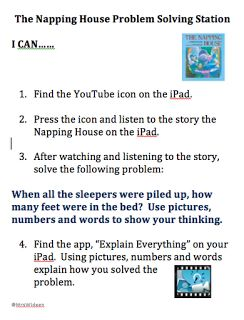 """""""I CAN CARDS"""" It provides learners with simple step by step instructions that are supported with visuals and also come with a word bank."""