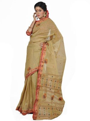 Aparnaa Self Design Embroidered Embellished Cotton Sari - Buy Beig Aparnaa Self Design Embroidered Embellished Cotton Sari Online at Best Prices in India | Flipkart.com  MRP: Rs. 5,332 Rs. 2,666 50% OFF Selling Price (Free delivery)