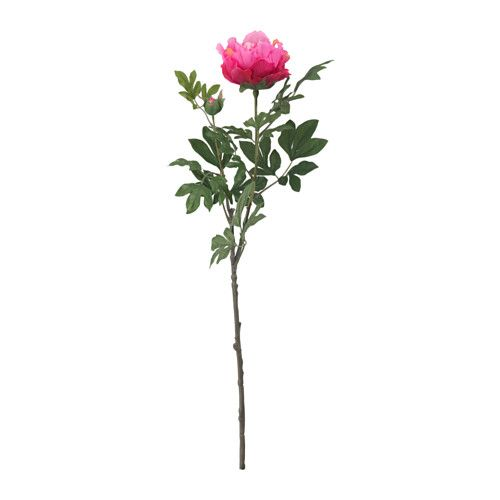 IKEA - SMYCKA, Artificial flower, Lifelike artificial flower that remains just as fresh-looking and beautiful year after year.You can bend and adjust the flower any way you want because of the steel wire in the stem.The stem can be shortened by using cutting pliers.