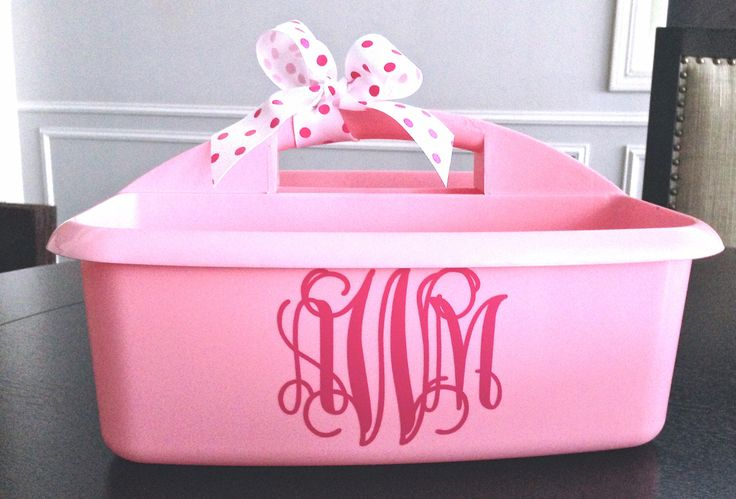 Personalized Shower Caddy. Perfect  Art caddy, Overnight Camp Caddy or your Dorm Room. by MonogramCollection on Etsy https://www.etsy.com/listing/223321959/personalized-shower-caddy-perfect-art