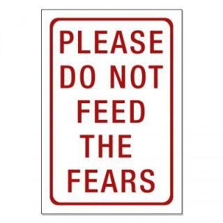 kick fear to the curb
