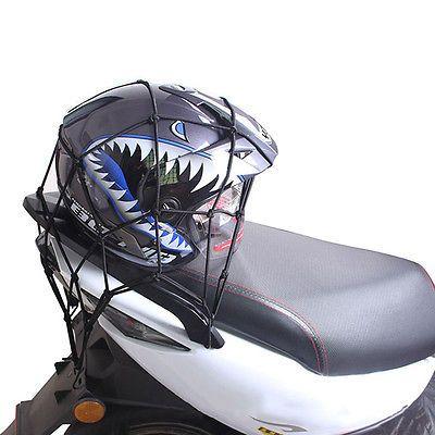 New-Motorcycle-Helmet-Net-Bike-Adjustable-Storage-Luggage-Cargo-Tie-Down-Mesh