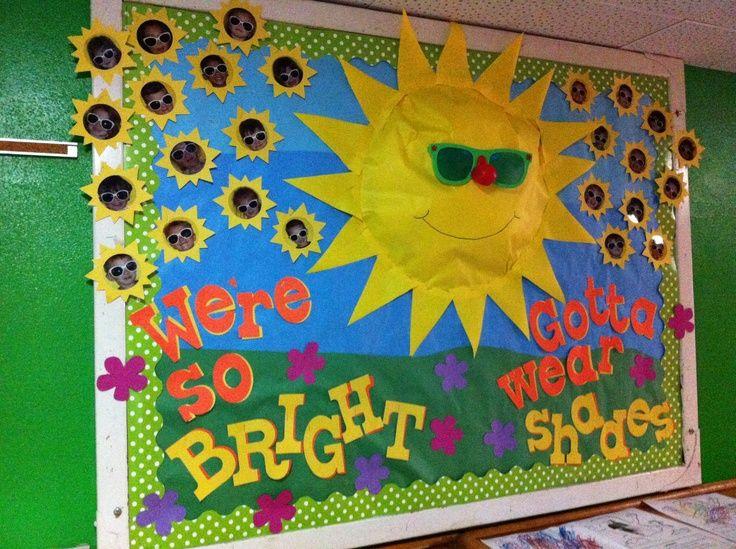 Preschool Bullentin Boards Flowers Pinterest Pinned By