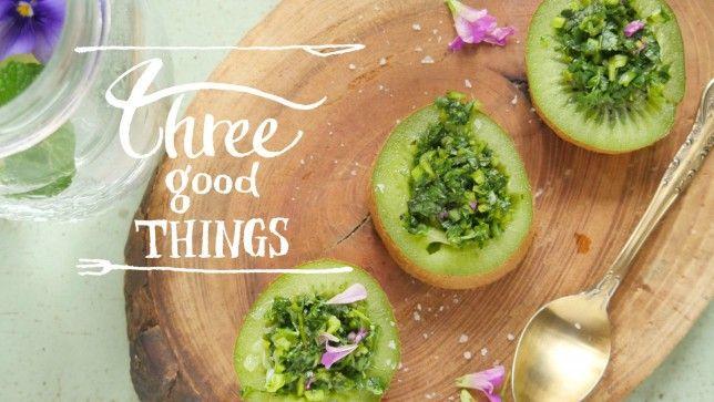 キウイ・ライム・パクチーで作る、サラダレシピ | NEXTWEEKEND