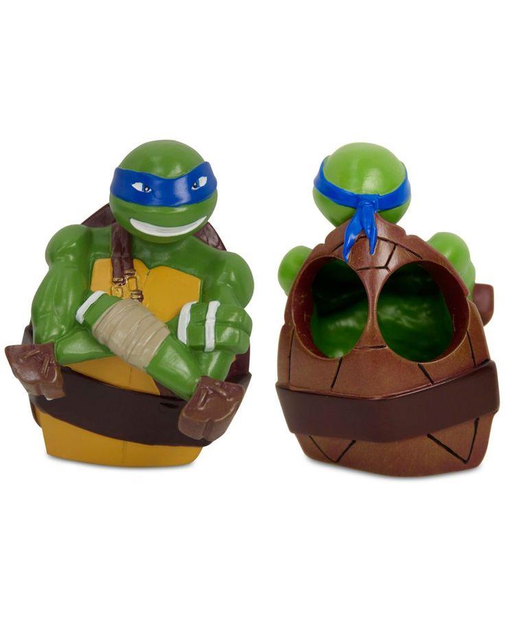 Teenage Mutant Ninja Turtle Toothbrush Holder Bathroom Accessories Bed Bath Macy S Ninja Turtles Teenage Mutant Ninja Turtle Toy Collection