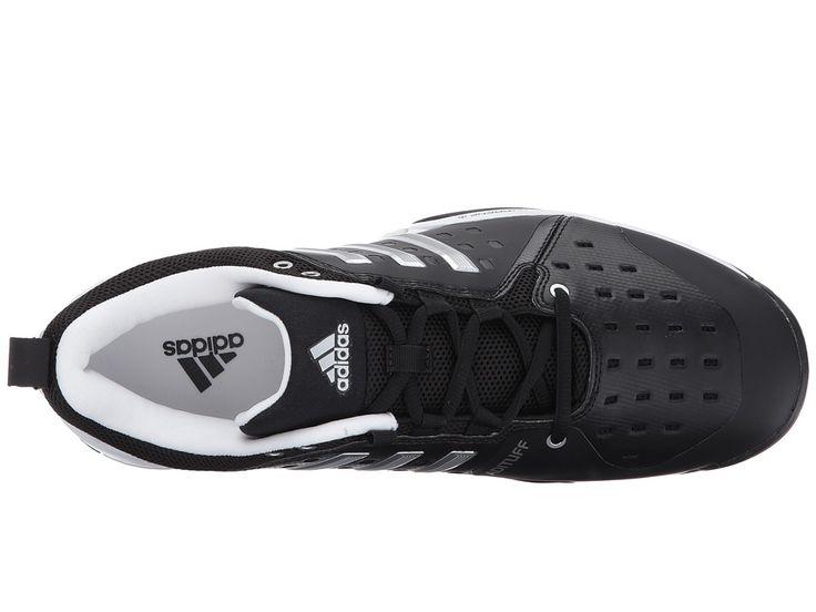 adidas Barricade Classic Men's Tennis Shoes Black/Metallic Silver/White