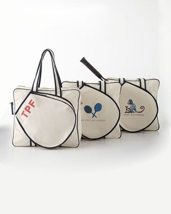 Tennis Bags by Parker Thatch at Neiman Marcus.