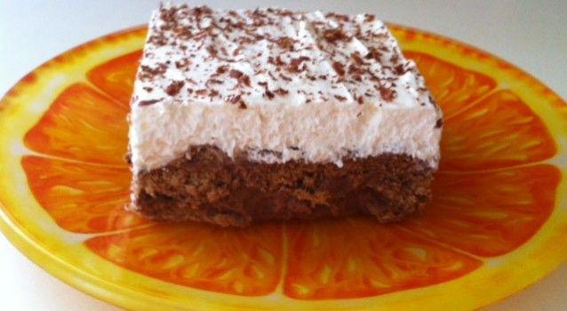 Λαχταριστό γλυκό ψυγείου με σοκολάτα και μπισκότα έτοιμο σε 15΄ | ΑΡΧΑΓΓΕΛΟΣ ΜΙΧΑΗΛ