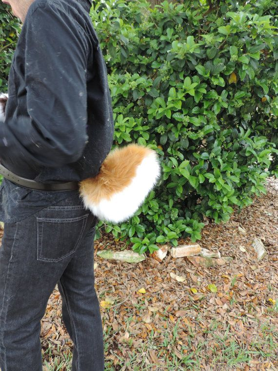 This is a caramel bunny/deer tail. It is held by two low profile, stable, and…