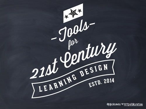 Tools for 21st Century Learning Design http://noteandpoint.com/u/271