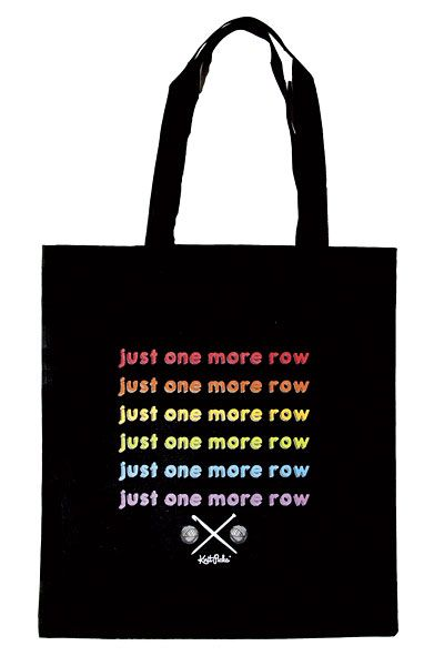 Just One More Row Tote Bag