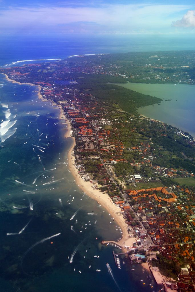 Tanjung Benoa and Nusa Dua, Bali, Indonesia. Many luxury hotels and dive center located in this peninsular and it's closer to International Airport too. What a great venue for a holiday in Bali