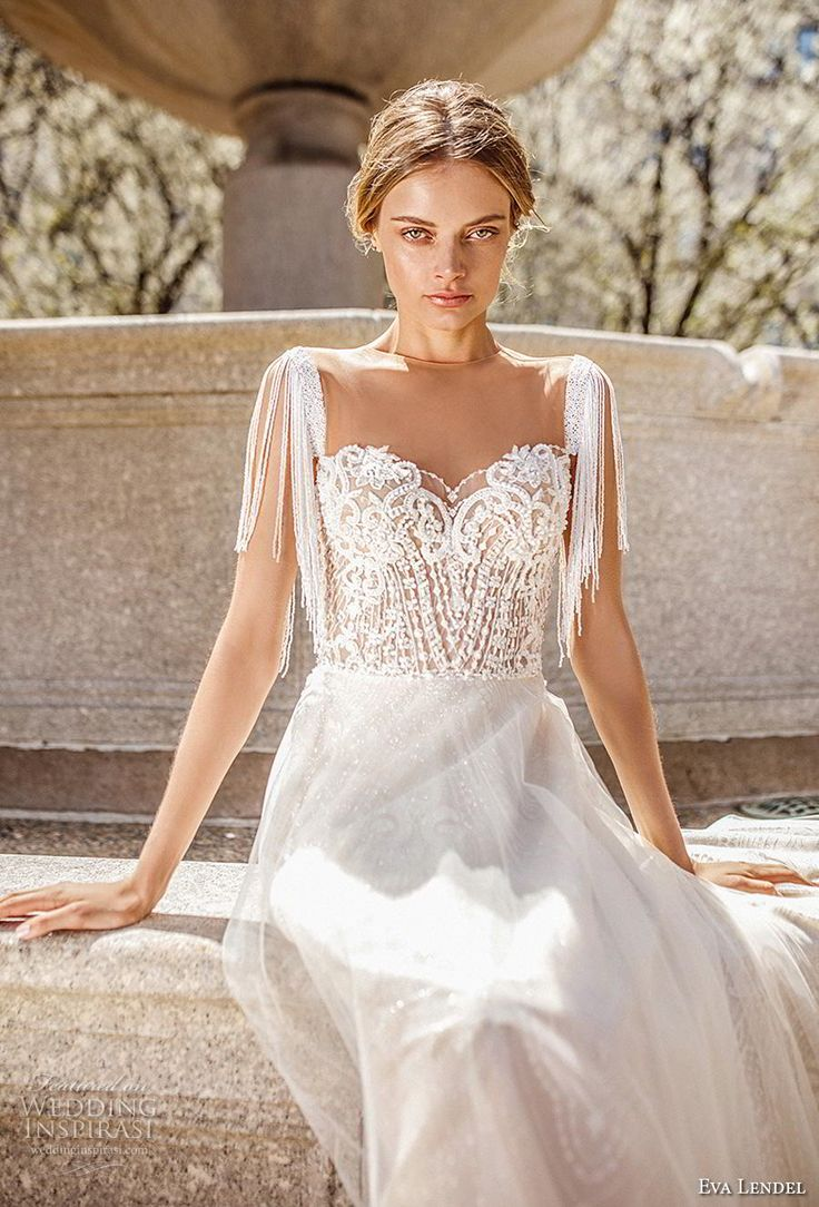 "Eva Lendel 2019 Wedding Dresses — ""Sunrise"" Bridal Collection"