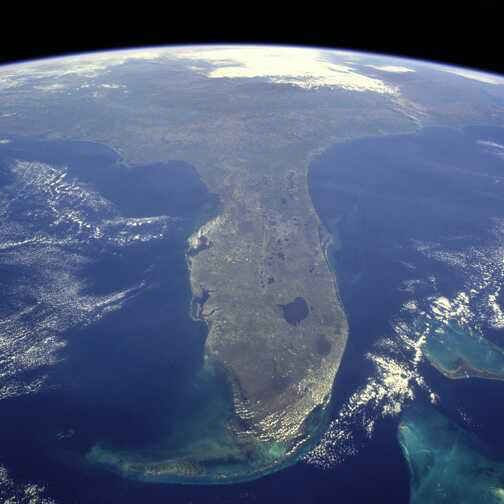 Florida from space