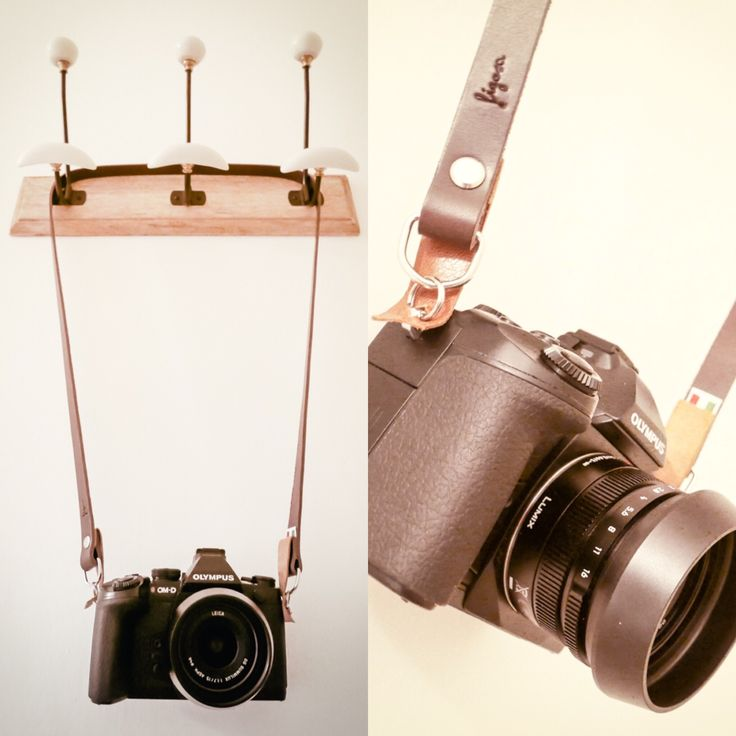 Luigi's beautiful shots of his Figosa strap mounted on Olympus OM-D!