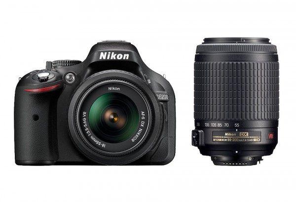 Nikon D5200 with AF-S 18-55 mm VR Kit + AF-S DX NIKKOR 35mm f/1.8G Rs. 39900 – FlipKart - Bachat Mela