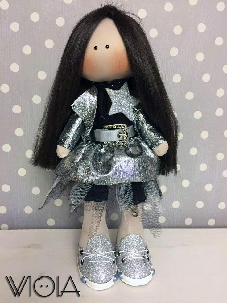 интерьерная кукла 45 см