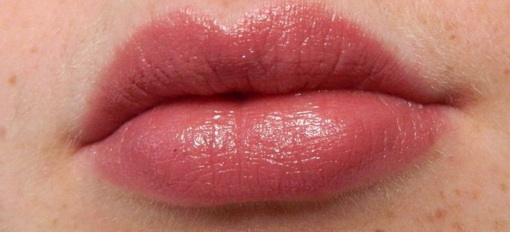 revlon just bitten lip stain in vintage - a perfect dusty rose.