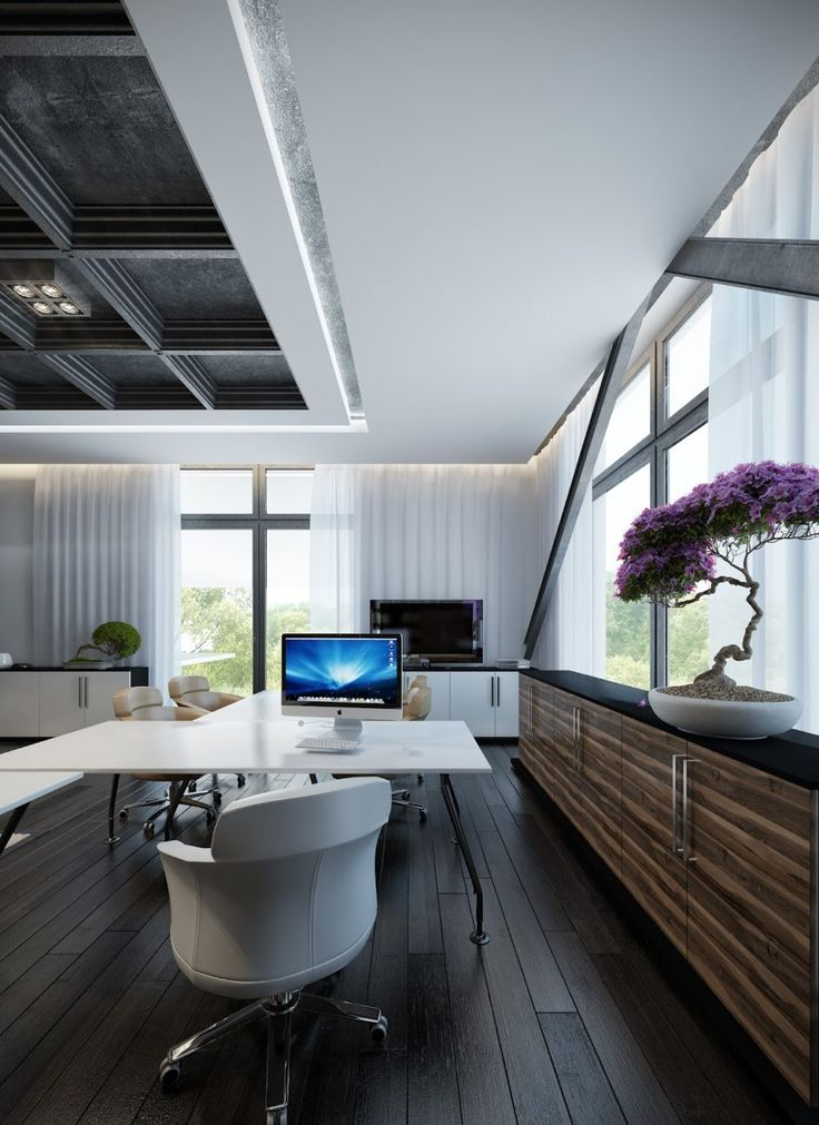 100 best Home Offices Collection images on Pinterest Office - modern home office design