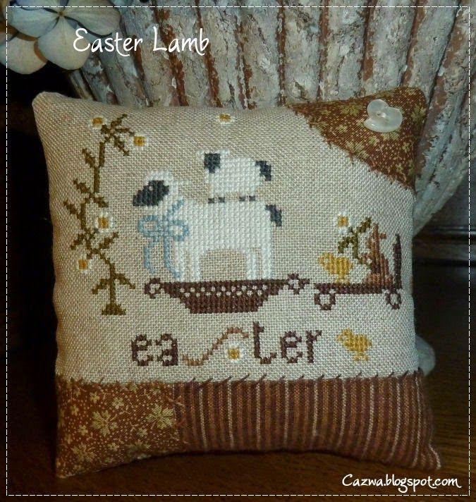 Stitches by Carin: Easter Lamb