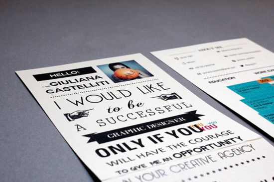 Most Creative Resume Designs of All Times | A Creative Blog