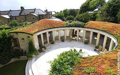Circular Courtyard Circular Home Design Pinterest