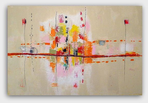Large Original  Abstract  Painting by Christina by ChristinaRomeo, $880.00