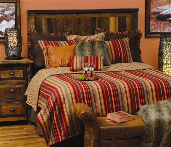 Bandera Coverlet By Wooded River Cabin Bedding And