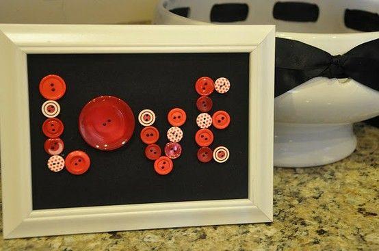 Love - Button Art