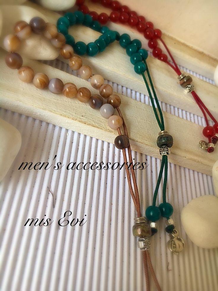 Men's accessories handmade kompoloi