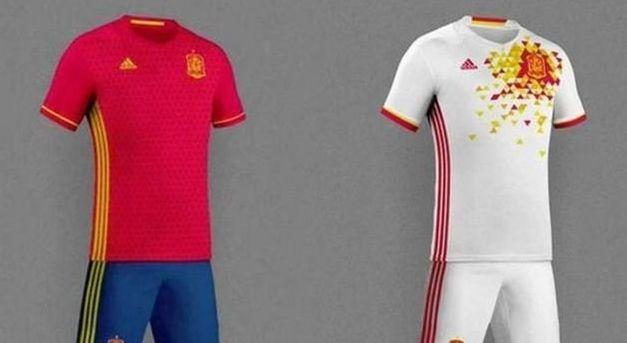 Así será la equipación de la selección española en la Eurocopa 2016 - Libertad Digital