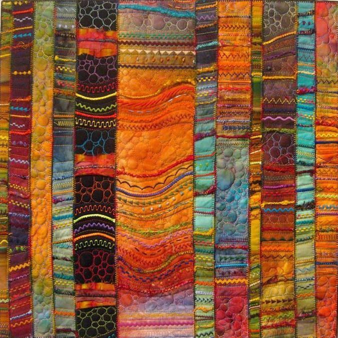 Carol Ann Waugh- AMAZING.... (for my thinking... slice it, turn some, stitch some, restitch it)                                                                                                                                                                                 More
