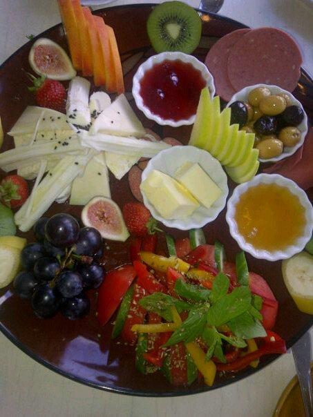 un esempio della colazione Turca da Istanbul!