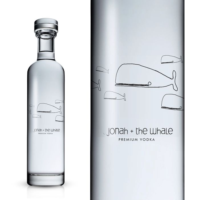 Why are vodka bottles always the coolest?