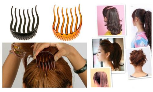 Details about BUMP IT UP Volume Inserts Hair Clip for ...