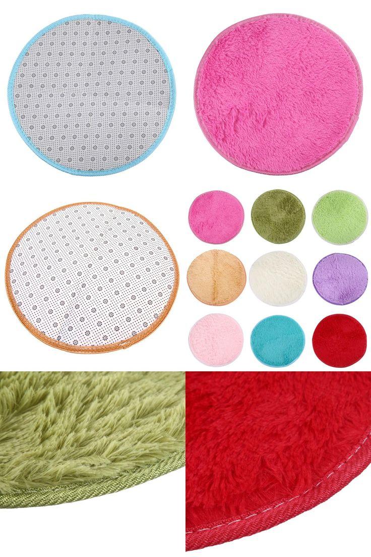 [Visit to Buy] Hot Sales European Round Carpets Home Decor  Round Foam Rug Non Slip Shower Mats Bedroom Mat Door Floor Carpet Puzzle Mat Fluffy #Advertisement