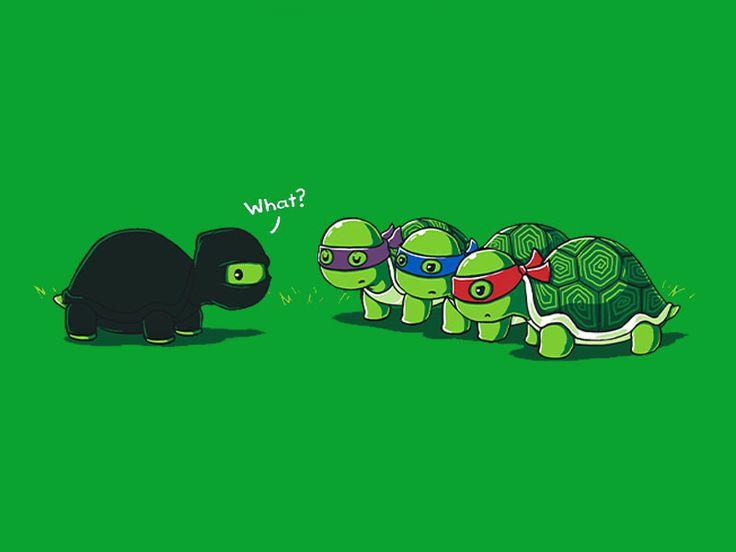 Картинки смешных черепашек ниндзя