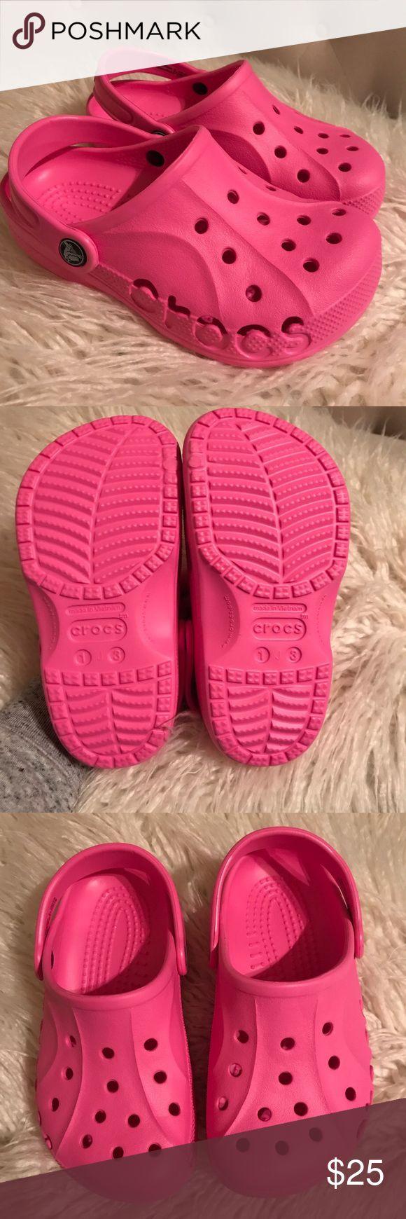 Hot Pink Crocs NWOT pink crocs for girls CROCS Shoes Sandals & Flip Flops