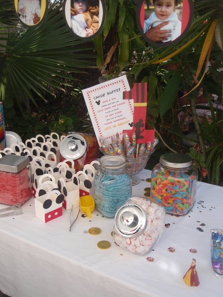 mickey mouse candy stations