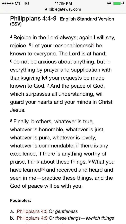 Philippians 4:4-9