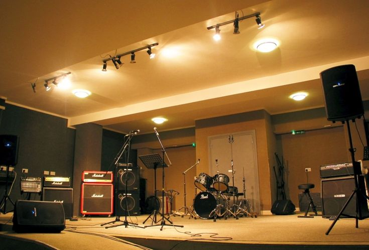 Ivy Arch Studios - this is where we rehearse  every thursday evening