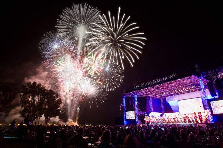 San Diego Symphony summer nights on the water
