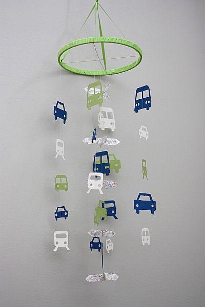 DIY  Car mobile